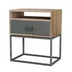 ASTA Home Furnishing Simplicity 1 Drawer Nightstand