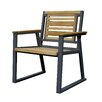 ASTA Home Furnishing Teak/Iron Classic Arm Chair