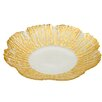 Classic Touch Trophy Scalloped Platter