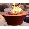 The Outdoor Plus Copper Gas Fire Bowl