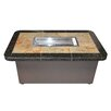 The Outdoor Plus Gas Fire Pit Table