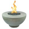 The Outdoor Plus Sienna Concrete Natural Gas Fire Pit