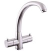 Mayfair Brassware Moda Double Handle Surface Mounted Monobloc Mixer Tap