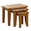 Besp-Oak Vancouver 3 Piece Nesting Tables