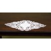 Wimpole Street Creations Diamond Shaped Fine Linen Table Accent Piece