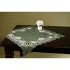 Wimpole Street Creations Fine Linen Classic Provincial Emerald Square Table Topper
