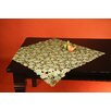 Wimpole Street Creations Fine Linen Classic Ginko Leaves Square Table Topper