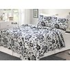 Cozy Line Home Fashion Amberley 3 Piece Quilt Set