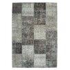 Obsession Handgefertigter Teppich Atlas in Grau