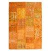 Obsession Atlas Handmade Orange Area Rug