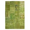 Obsession Atlas Handmade Green Area Rug