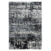 Obsession Maharani Handmade Black and White Area Rug