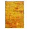 Obsession Handgefertigter Teppich Bokomona in Gelb