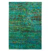 Obsession Maharani Handmade Green, Blue and Multicolour Area Rug