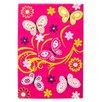 Obsession Handgearbeiteter Kinderteppich Lifestyle in Pink