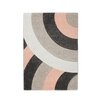 Obsession Florida Pastel-Pink Area Rug