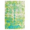 Obsession Teppich Maya in Grün / Blau