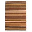 Obsession Handgefertigter Teppich Kilim in Braun