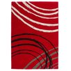 Obsession Cuba Red Area Rug