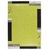Obsession Handgearbeiteter Teppich Lifestyle in Grün