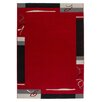 Obsession Lifestyle Handmade Red Area Rug