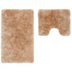 Obsession Delight 2 Piece Bath Mat Set