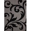 Lalee France Paris Hand-Woven Black Area Rug