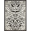 Lalee Teppich USA Housten in Schwarz/ Weiß