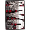 Lalee Italy Milan Black, White and Red Area Rug