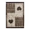 Lalee Argentina Buenos Aires Brown Area Rug