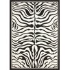 Lalee USA Housten Black and White Area Rug