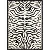 Lalee Teppich USA - Housten in Schwarz/ Weiß
