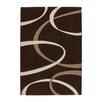 Lalee Handgearbeiteter Teppich France - Lyon in Mocca/ Beige
