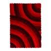 Lalee Handgefertigter Teppich Canada - Ottawa in Rot