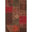 Lalee USA Los Angeles Red Area Rug