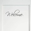 Decal the Walls Welcome Wall Decal