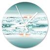 I-like-Paper Clouds 13cm Analogue Wall Clock