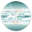 I-like-Paper Analoge Wanduhr Clouds 13 cm