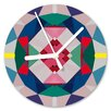 I-like-Paper Analoge Wanduhr Geometrical 13 cm