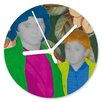 I-like-Paper Girl and Boy 13cm Analogue Wall Clock