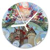 I-like-Paper Das Schloss 13cm Analogue Wall Clock