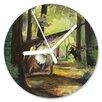 I-like-Paper Analoge Wanduhr Der Wald 13 cm