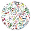 I-like-Paper Analoge Wanduhr Florality Bird 13 cm