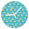 I-like-Paper Happy Aliens 13cm Analogue Wall Clock