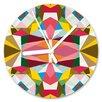 I-like-Paper Geometrical 13cm Analogue Wall Clock