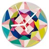 I-like-Paper Geometrical 13cm Analogue Wall Clock