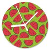 I-like-Paper I Carried a Watermelon 13cm Analogue Wall Clock