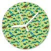 I-like-Paper Dinomyte 13cm Analogue Wall Clock