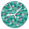 I-like-Paper Analoge Wanduhr Tropical Heat 13 cm