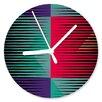 I-like-Paper Jalousie 13cm Analogue Wall Clock